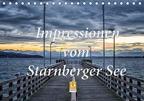 Impressionen vom Starnberger See (Tischkalender 2020 DIN A5 quer)
