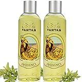 Un Air d'Antan 2er Set Duschgel Provence mit Bio Verbena - Parfum Verbena, Bergamotte, Zitrone -...