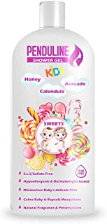 PENDULINE Baby Shower Gel 450ML with Banana and Sweets Scent