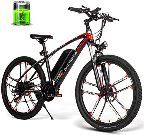 Alta velocidad 26 pulgadas bicicleta eléctrica de 48V 350W 8AH Motor bici...
