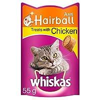 Whiskas Anti-Hairball Cat Treats 55g 55g Whiskas Quantity: 1