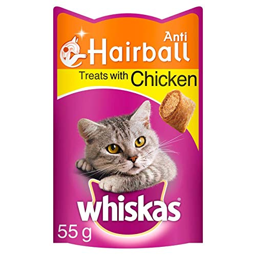 Whiskas anti-hairball Cat Treats 55 g