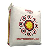 Morrell Outdoor Weatherproof Durable Range Adult Field Point Archery Bag Target with Over 50 Bullseyes, Nucleus Center, and IFS Technology, White