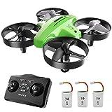 ATOYX Mini Drone per Bambini 66C,3 velocità 3D Flip Protezioni a 360°, Funzione di Sospensione...