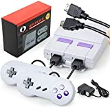 Classic Game Consoles HD Retro Game Console with Built-in 821 NES Games with 2 Classic Controller,HDMI HD Output,Childhood Classic Game,Children Gift,Birthday Gift Happy Child Memories HD HDMI DISPLAY