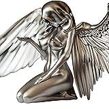 Eghunooze Figura de ángel de hadas madre de resina estatua alada de ángel de recuerdo de la redención de ángel de jardín estatua para jardín decoración del hogar, Angel-d, Talla única