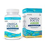 Nordic Naturals Omega Focus Jr, Lemon - 120 Mini Soft Gels - 900 mg Total Omega-3s with EPA, DHA, DMAE & Phosphatidylserine - Attention, Learning - Non-GMO - 30 Servings