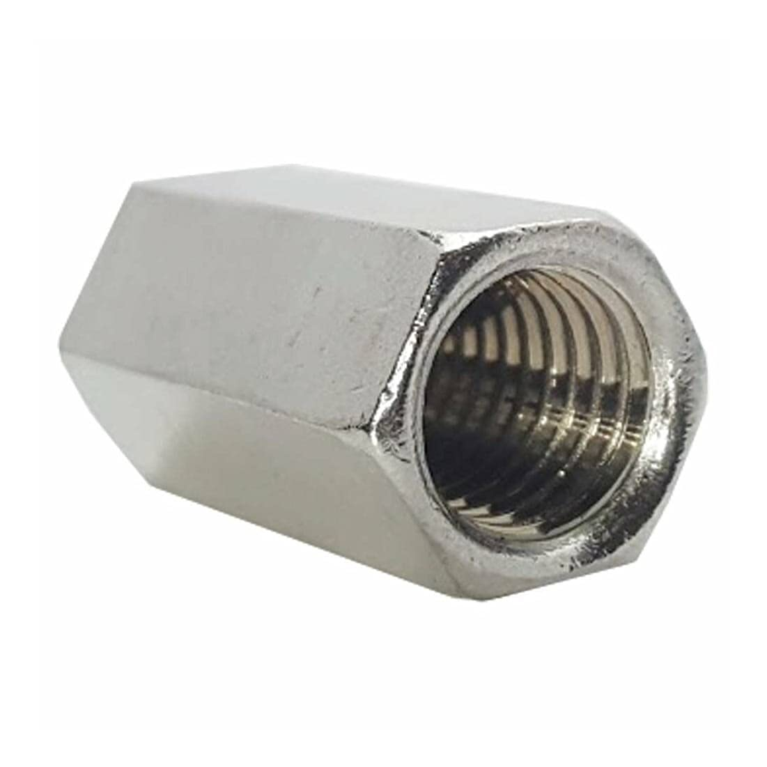 1 4-28 Rod Coupling Nuts Hex Ranking TOP16 Steel 10 Extension Selling rankings Qty Stainless
