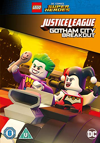 LEGO DC Justice League: Gotham City Breakout with Free Superhero Sticker Sheet [DVD] [2016] UK-Import, Sprache-Englisch.