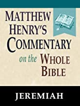 Matthew Henry's Commentary on the Whole Bible-Book of Jeremiah