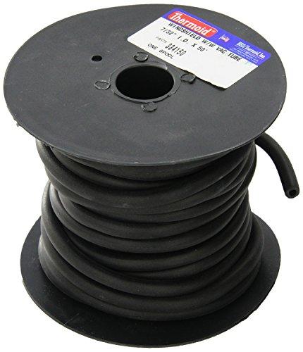 HBD 3341 Vacuum Hose, Black, 7/32
