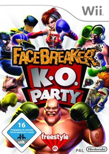 Facebreaker K.O. Party - [Nintendo Wii]