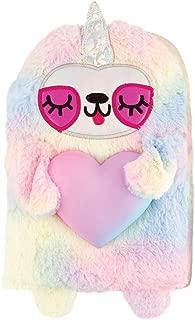 Rainbow Sloth w/Squishy Heart Fun-Folio