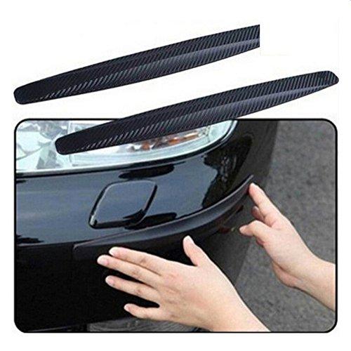 Pack de 2 protectores parachoques para el coche Chytaii Universal tiras adhesivas