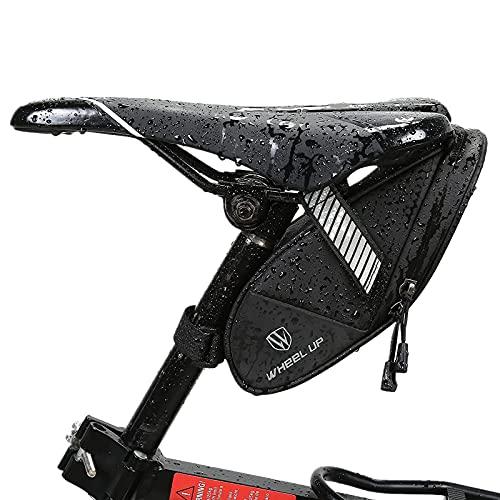 Bolsa Bicicleta Sillin,Bolsa para Bicicleta MTB Carretera Bolsa para Bicicleta Trasera Resistente...