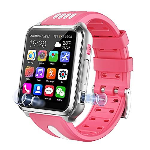 URJEKQ Smartwatch con GPS Relojes Inteligentes Hombre Esfera de Reloj Reloj Deportivo Hombre Pulsera Actividad Inteligente Reloj Inteligente Mujer,Rosado