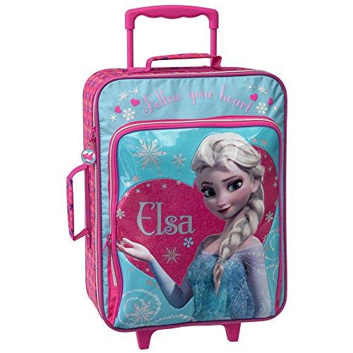 Disney Bagages Enfant Elsa la Reine des Neiges, 50 cm, (Multicolore)