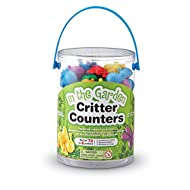 Learning Resources In the Garden Bug Counters Tub of 72