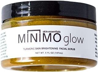 Minimo Bath & Body Glow Turmeric Skin Brightening Facial Scrub