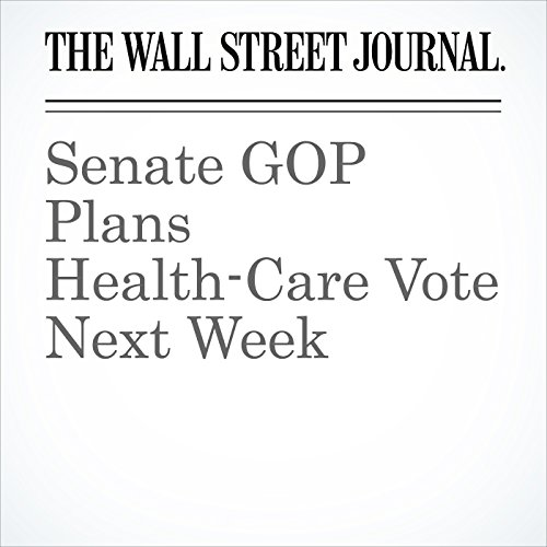 Senate GOP Plans Health-Care Vote Next Week copertina