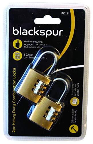 Blackspur BB-PD121 - Lucchetti con combinazione ad alta resistenza