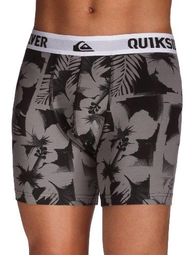 Quiksilver-ESS Imposter B X3 Herren Boxershorts M grau - Mouse Grey