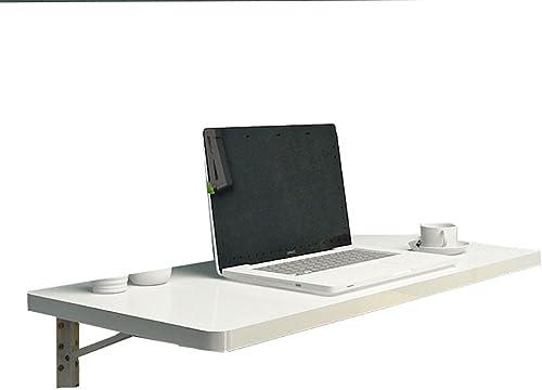 hermoso WNX Mesa de de de Comedor Plegable de Parojo Mesa de Comedor Sala de Estar Escritorio de la computadora Mesa de Estudio Infantil blanco (Tamaño   120  40cm)  barato
