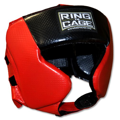Ring to Cage Kids Traditional Style Headgear for Boxing, Muay Thai, MMA, Kickboxing, Martial Arts