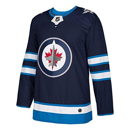 Winnipeg Jets Adidas NHL Men's Climalite Authentic Team Hockey Jersey Maglia
