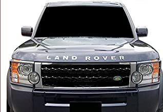 R&L Racing 2005-2009 Land Rover LR3 Discovery 3 All Models Chrome/Black Mesh Front Hood Bumper Grill Grille