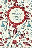 Diario de Vinos: Es un cuaderno o libro para registrar catas de vino - 120 paginas, 16cmx23cm - Ideal para los aficionados o amantes del vino.