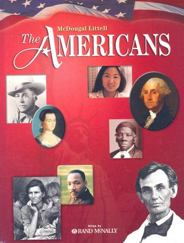 McDougal Littell the Americans: Student Edition Grades 9-12 2003