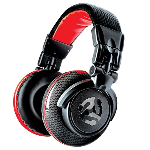 Numark Red Wave Carbon Lightweight Full-Range DJ Headphones