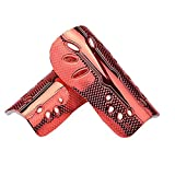 SUPOW Pair of Soccer Shin Guards - [High Flexible PP Shield + Thick