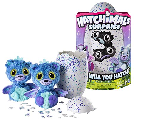 Spin Master Hatchimals Surprise Purple Teal Egg, versión importada , color/modelo surtido