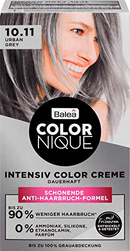 Balea COLORNIQUE Intensiv Color Creme Urban Grey 10.11, 1 St