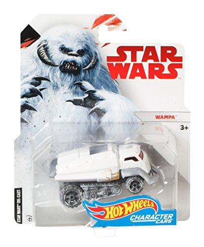 Mattel Hot Wheels FCD81 vehículo de Juguete - Vehículos de Juguete (Multicolor, Coche, Star Wars, Wampa, 3 año(s), 1:64)