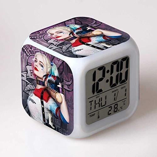 511l7mWOWcL._SL500_ Harley Quinn Clocks