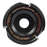 ARBORTECH Industrial Woodcarver | Ø 100 mm Hartmetall Frässcheibe für Winkelschleifer zur Holzbearbeitung | IND.FG.100