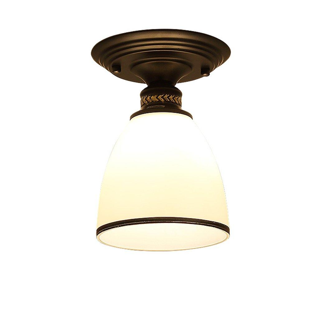 YCLED Lámpara de Techo Simple de la Vendimia Restaurante Estudio ...