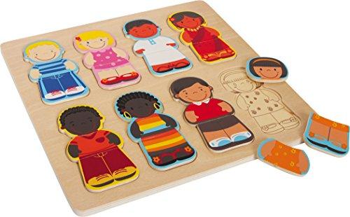 Legler - 2019655 - Puzzle en Bois - Les Enfants du Monde