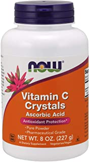 NOW Supplements, Vitamin C Crystals (Ascorbic Acid), Antioxidant Protection*, 8-Ounce