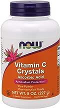 Now Supplements, Vitamin C Crystals Ascorbic Acid, 100% Pure Powder, 8-Ounce