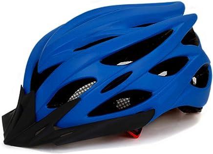 Wxhelmet Casco para Bicicleta con Visera Desmontable Super Light para Adult Hombres y Mujeres Ligera para Montar en Bicicleta Casco
