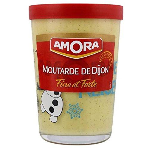 Amora starken Senf Glas tv 195g - ( Einzelpreis ) - Amora moutarde forte verre tv 195g