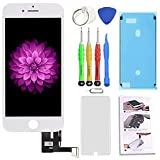 for iPhone 7 Plus Screen Replacement White 5.5 inch 3D Touch Screen LCD Digitizer Display Assembly with Free Repair Tools