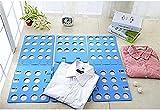 Gearmax® Plegable Ropa Junta, Fast Adjustable T-Shirts Organizador Carpeta (Azul)