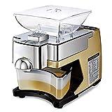 FREEDOH 530 W Prensa Aceite Electrónica Máquina Prensado En Caliente/Frío Acero Inoxidable Grado Alimenticio Alto Rendimiento Aceite para Maní Semilla Nueces Olivo (110 V / 220 V),110v