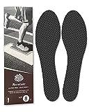 Carbon Fiber Insole 260mm Men's Size 8 / Women's 8.5, Carbon Fiber Shoe Inserts for Man Woman,...