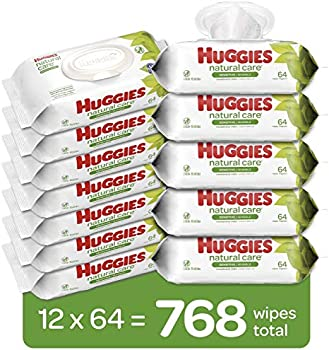 768-Count Huggies Natural Care Unscented Baby Wipes